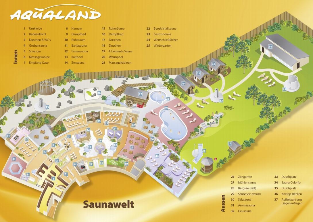 [Groupon] Aqualand Köln - 2 Tageskarten (Bad + Sauna)