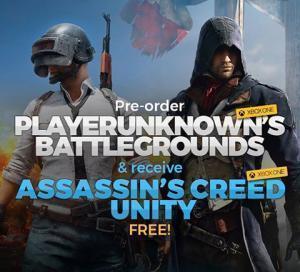 PlayerUnknown's Battlegrounds (Xbox One Digital Code) + Assassin's Creed: Unity (Xbox One Digital Code) für 7,75€ (CDkeys)