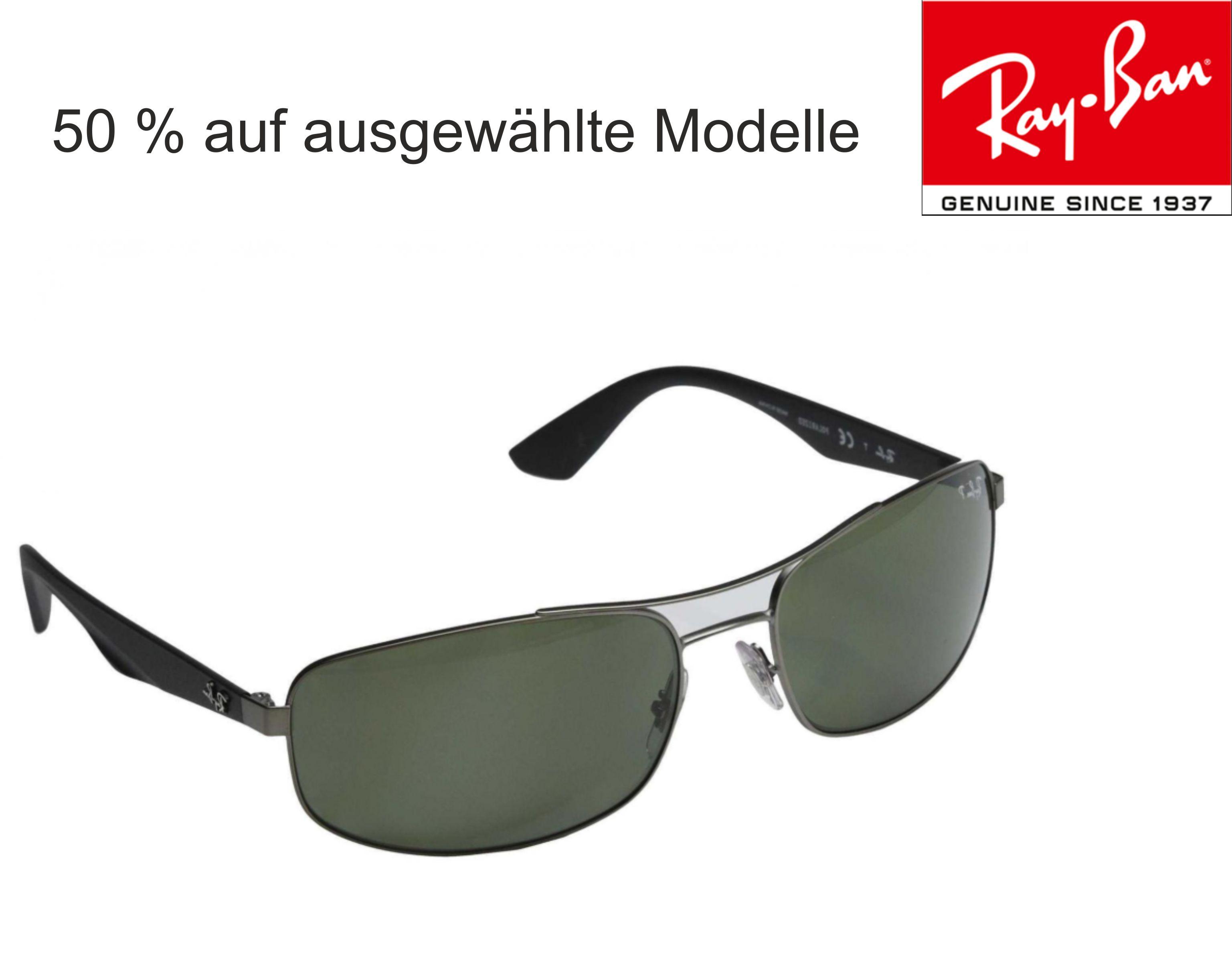 Ray Ban / Rabatt  auf eine Auswahl an Sonnenbrillen / Versandkostenfrei