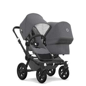 bugaboo donkey 2 classic duo complete Schwarz