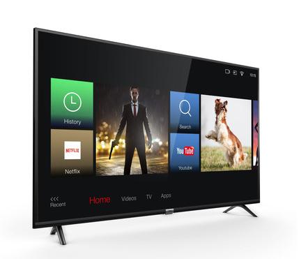 """TCL 43DP603 (43"""", Ultra HD, 60Hz, 8bit+FRC, HDR10 & HLG, 300 cd/m², Triple Tuner, Smart TV 3.0, 2x HDMI 2.0)"""