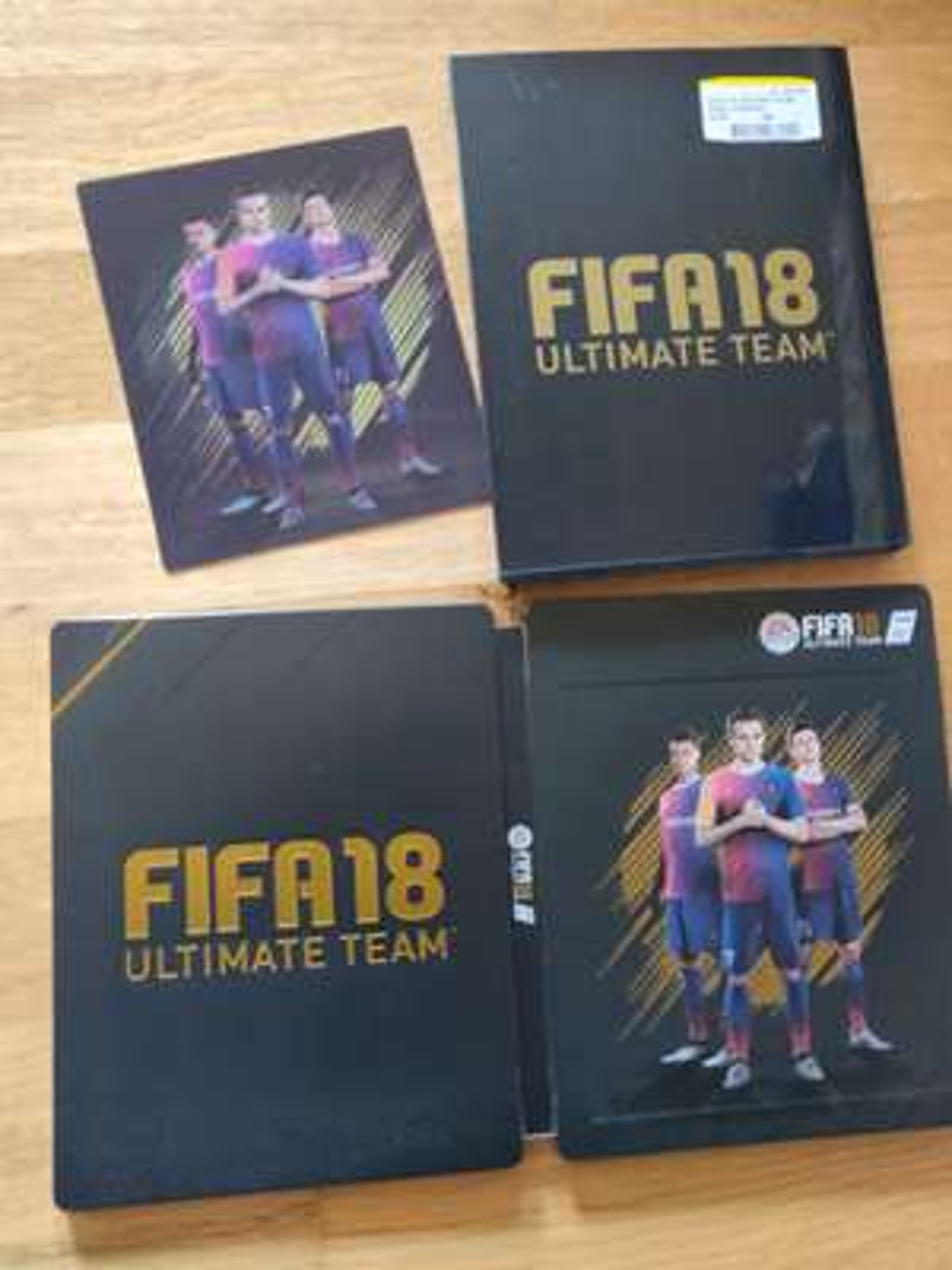 [Lokal, Media Markt Landau/Pfalz] FIFA 18 3D Lenticular Steelbook (ohne Spiel)