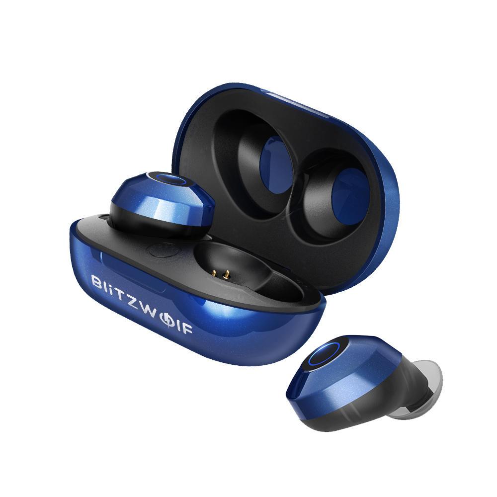 Blitzwolf  BW-FYE5 Bluetooth V5.0 Mini True Wireless Earbuds Stereo Earphone Portable Charging Box Kopfhörer