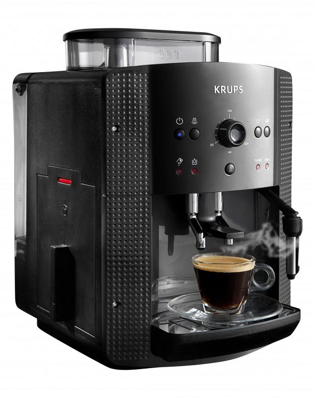 Krups Espresso-Kaffee-Vollautomat EA810B - bei Norma Filiale/Online