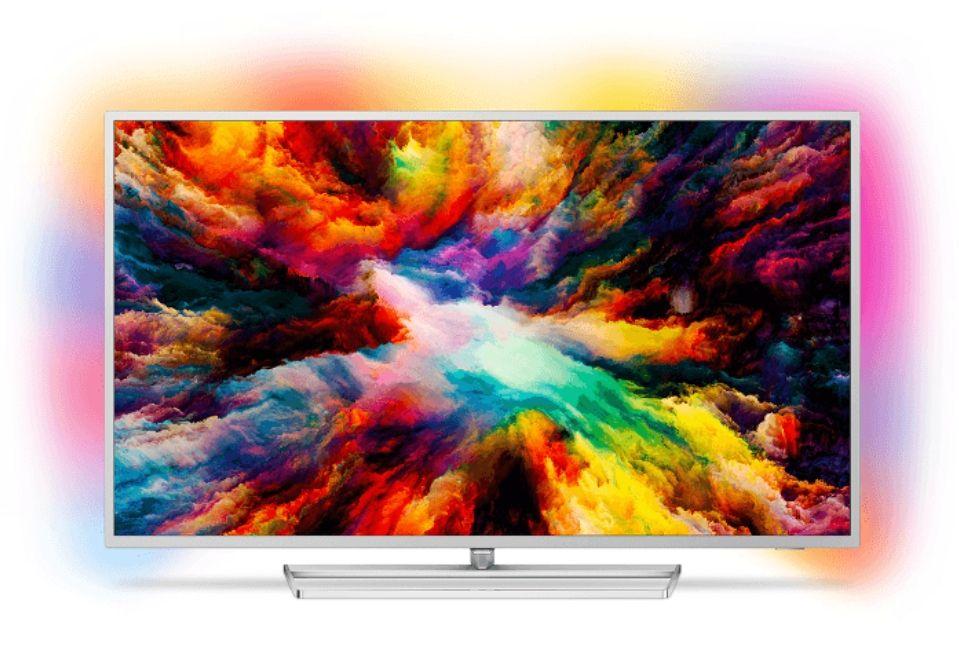 PHILIPS 55PUS7363, 139 CM (55 ZOLL), UHD 4K, SMART TV, LED TV, 1600 PPI, AMBILIGHT 3-SEITIG, DVB-T2 HD, DVB-C, DVB-S, DVB-S2