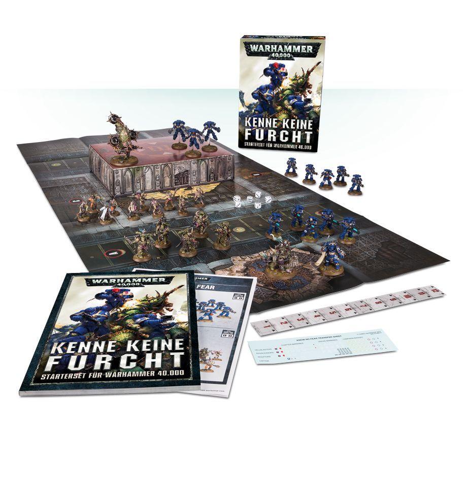 Warhammer 40000 Kenne keine Furcht / Tabletop Starter Set