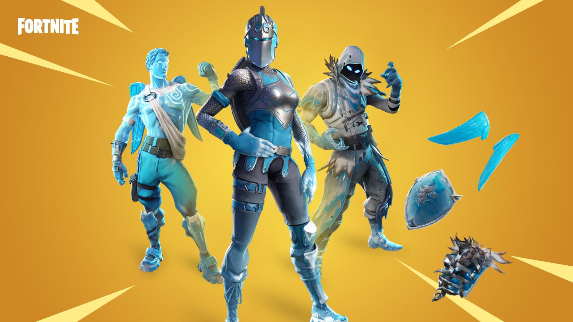 Fortnite Frozen Legends Pack Rdw Grunder Paket Starter Paket 1