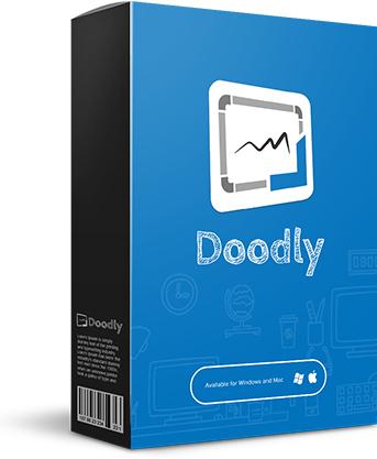 Doodly Standard - Handgezeichnete Videos lebenslange Lizenz statt 39USD/Monat