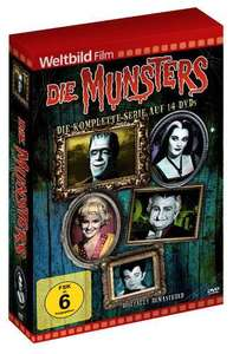 Die Munsters: Die komplette Serie - Weltbild-Edition (DVD) bei KIDOH.de