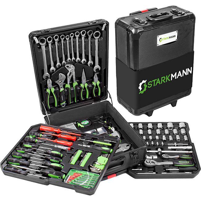 [Plus.de] Starkmann Blackline Werkzeugkoffer 399-teilig