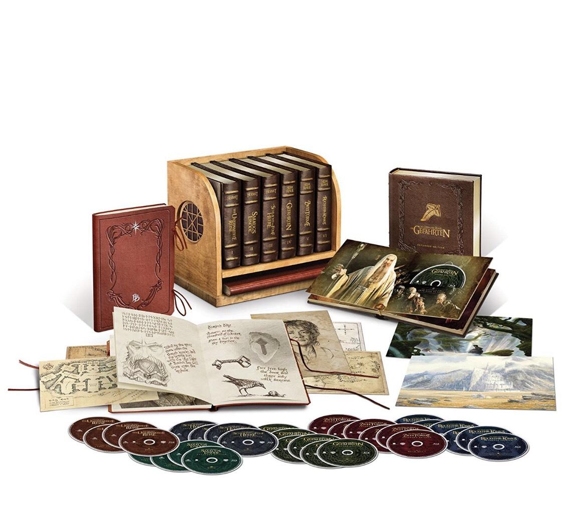 Mittelerde Ultimate Collection Extended Bluray Amazon Preissturz
