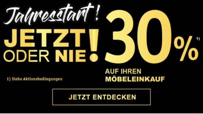 [XXL Lutz] 30% auf Euren Möbelkauf!