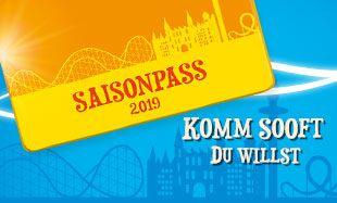 Heide Park Saison Pass 2019 (Ausschlusszeiten beachten)