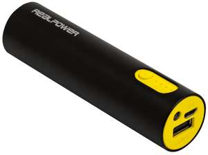 REALPOWER PB-260 Alu, Powerbank, 2600 mAh [Saturn]