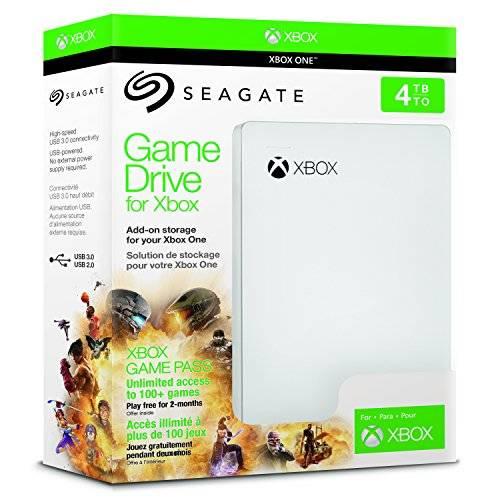 Seagate Game Drive 4 TB Xbox One Externe Festplatte (2.5 Zoll, USB 3.0) + 2 Monate Xbox Game Pass für 99€ versandkostenfrei (Saturn)