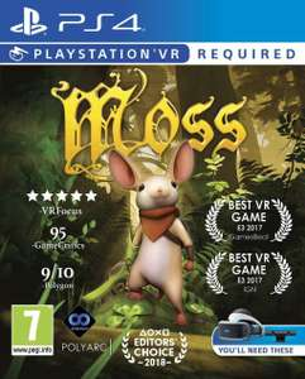 Moss (PS4-VR) für 19€ (Base.com)