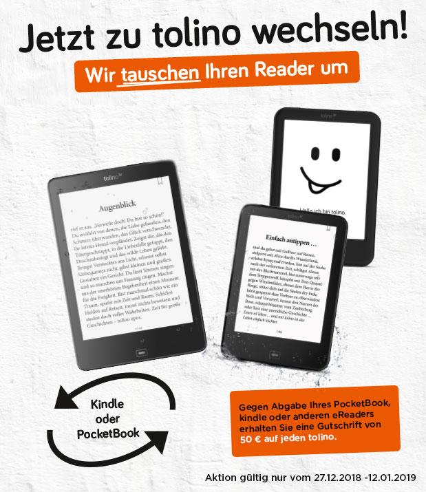 [OFFLINE] Alle Jahre wieder - Große Tauschaktion von Osiander. 50€ Gutschrift für Euren eReader!