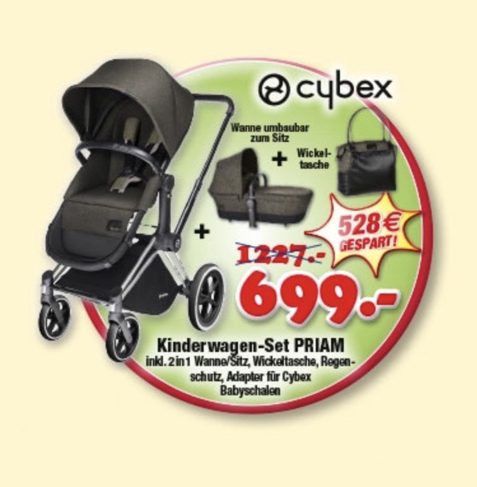 [Lokal] Cybex Priam Kinderwagen Set bei Babywelt in Augsburg