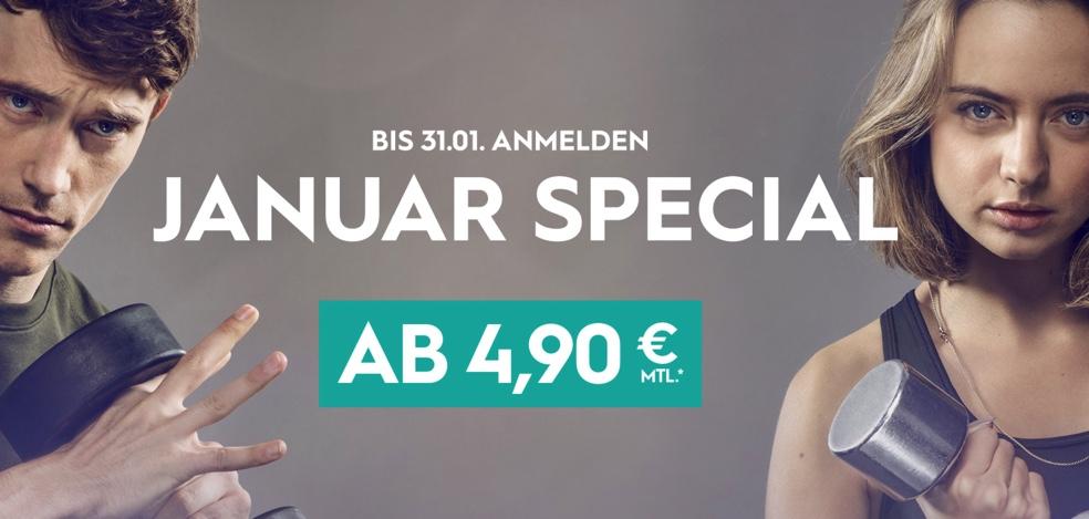 Januar Spezial John Reed 4,90€ für die ersten 6 Monate.
