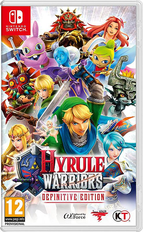 Hyrule Warriors Definitive Edition (Switch) für 38,90€ (Gameware)