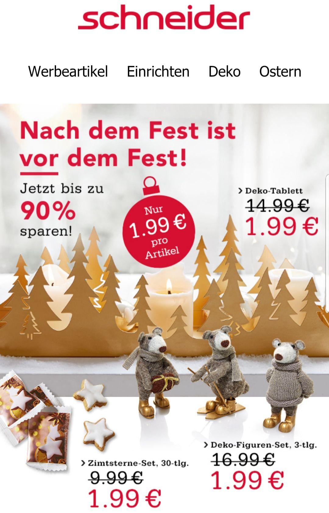 Schneider 1.99€ Aktion z.B. dry Gin 350ml zzgl. Versand und MwSt. Evtl. 10€ Newslettergutschein