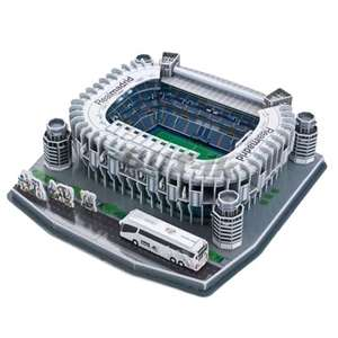 Real Madrid Santiago Bernabéu Stadium 3D-Puzzle (160-teilig, 34,6 x 34 x 8,8 cm)