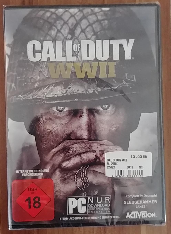 [Lokal/Offline Mediamarkt Heidenheim) Call of Duty: WWII, PC, Vergleichspreis 15,15€