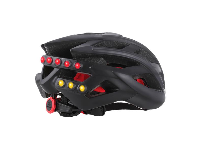 Fahrradhelm Livall BS60 mit Smart-Funktionen (Rücklicht, Blinker, Lautsprecher, Fernbedienung usw.