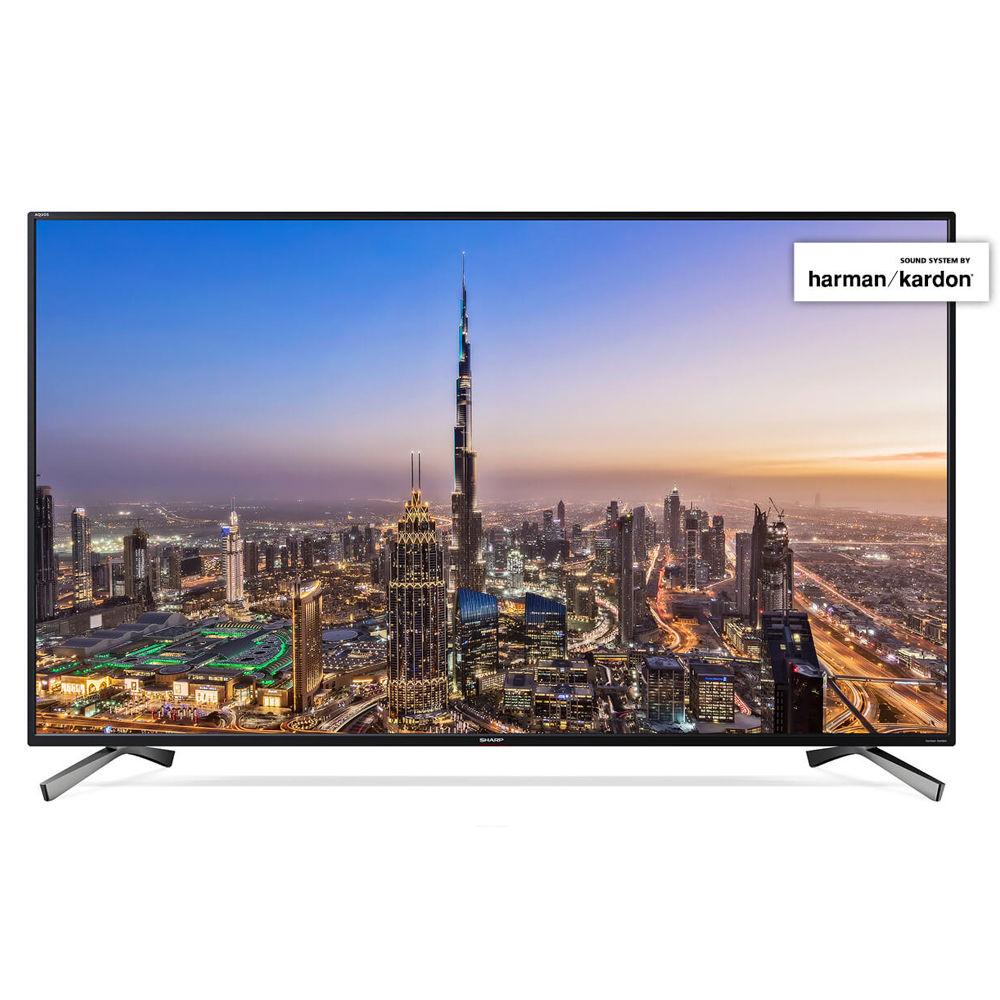 Sharp LC 55 UI8652 E - 139 cm (55 Zoll) Fernseher (4K Ultra HD, HDR+, Smart TV, WLAN, Triple Tuner (DVB T2), harman/kardon Sound) [NBB]