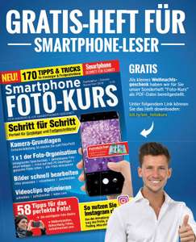 "Smartphone Magazin: Gratis Sonderheft ""Smartphone Foto-Kurs"" zum Download (PDF)"