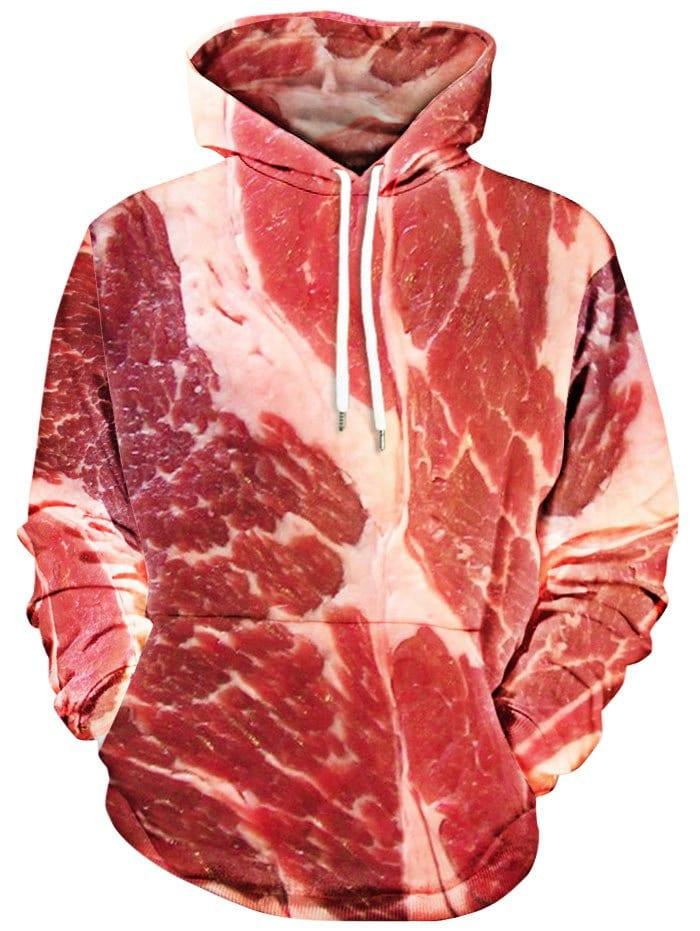 GAMISS - Raw Meat Kangaroo Pocket Hoodie