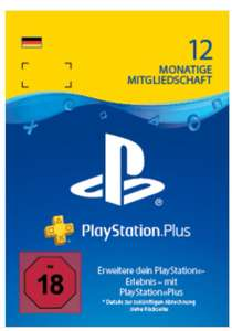 PS +, Playstation Plus, 12 Monate/ 365 Tage Abo 10% günstiger mit Krypto-Zahlung oder Sovendus-Gutschein über Thalia