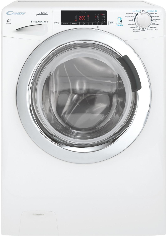 Waschtrockner Candy GVSW G485TWC-84 (A, 8kg Waschen, 5kg Trocknen, 1400 U/min, 16 Programme, Dampffunktion, NFC) --- 319€ über eBay