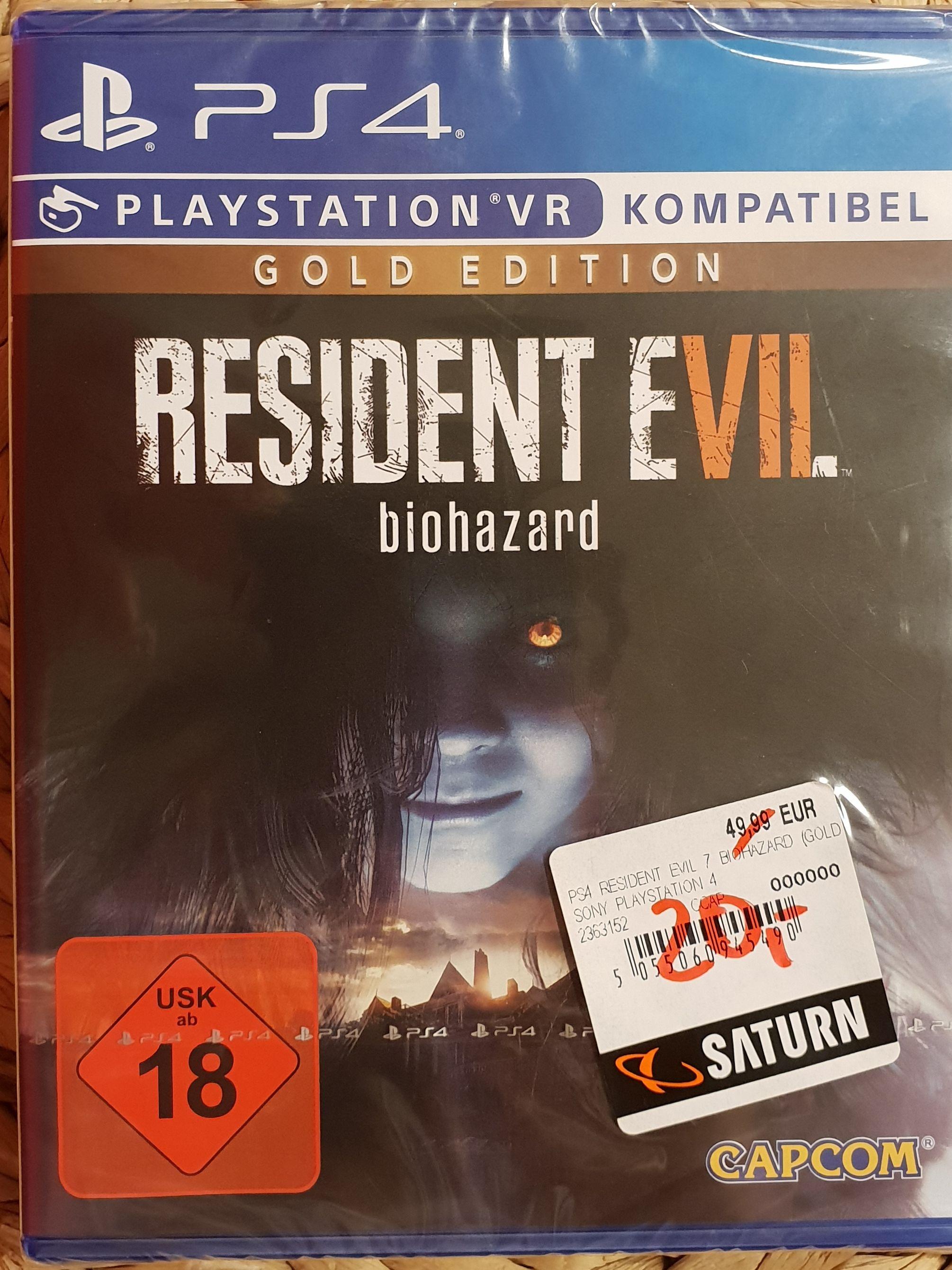 Resident Evil 7 Biohazard Gold Edition  Lokal Jena