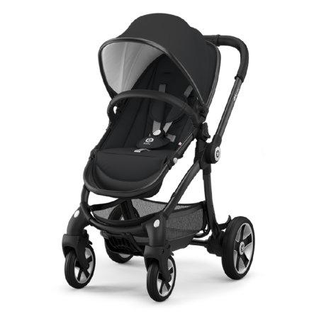 Babymarkt - Kiddy Kinderwagen Evostar 1 Onyx Black, ruby Red oder Royal purple