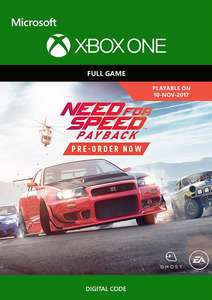 Need for Speed Payback (Xbox One) für 10€ & Deluxe Edition für 14€ (Xbox Store Live Gold)