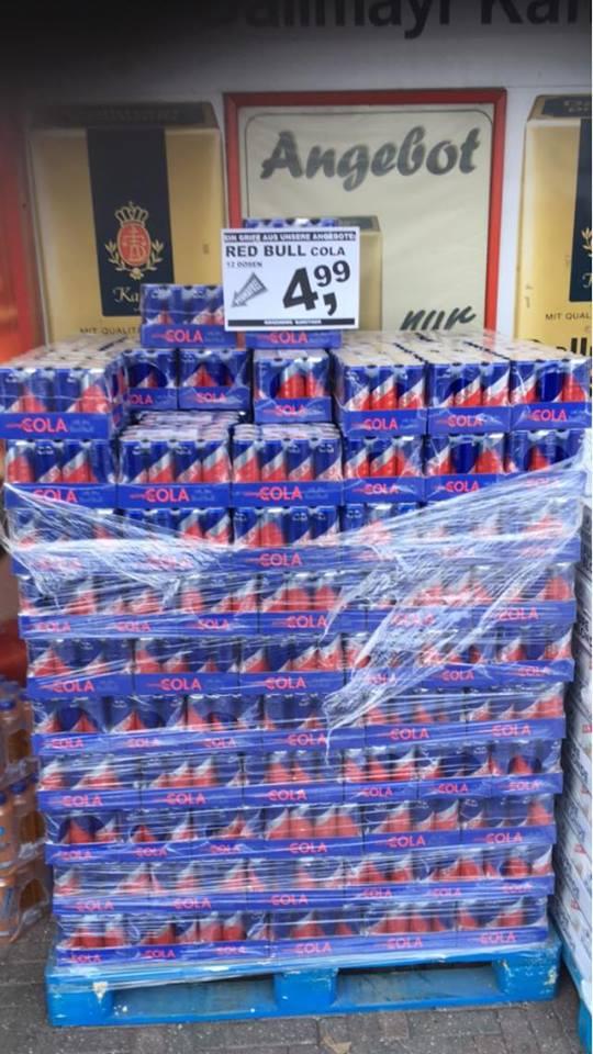 [Denekamp / NL - Supermarkt Berning] Red Bull Cola - 12 Dosen a 250 ml - pfandfrei - 41 Cent pro Dose