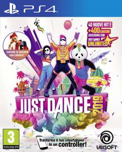 Just Dance 2019 für PS4 (amazon.it)  Switch, XBox und Wii ebenfalls