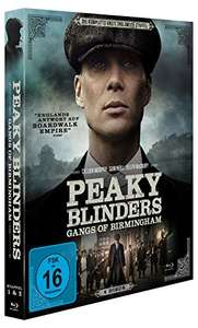 Peaky Blinders Staffel 1 & 2 auf Blu ray [Amazon prime]
