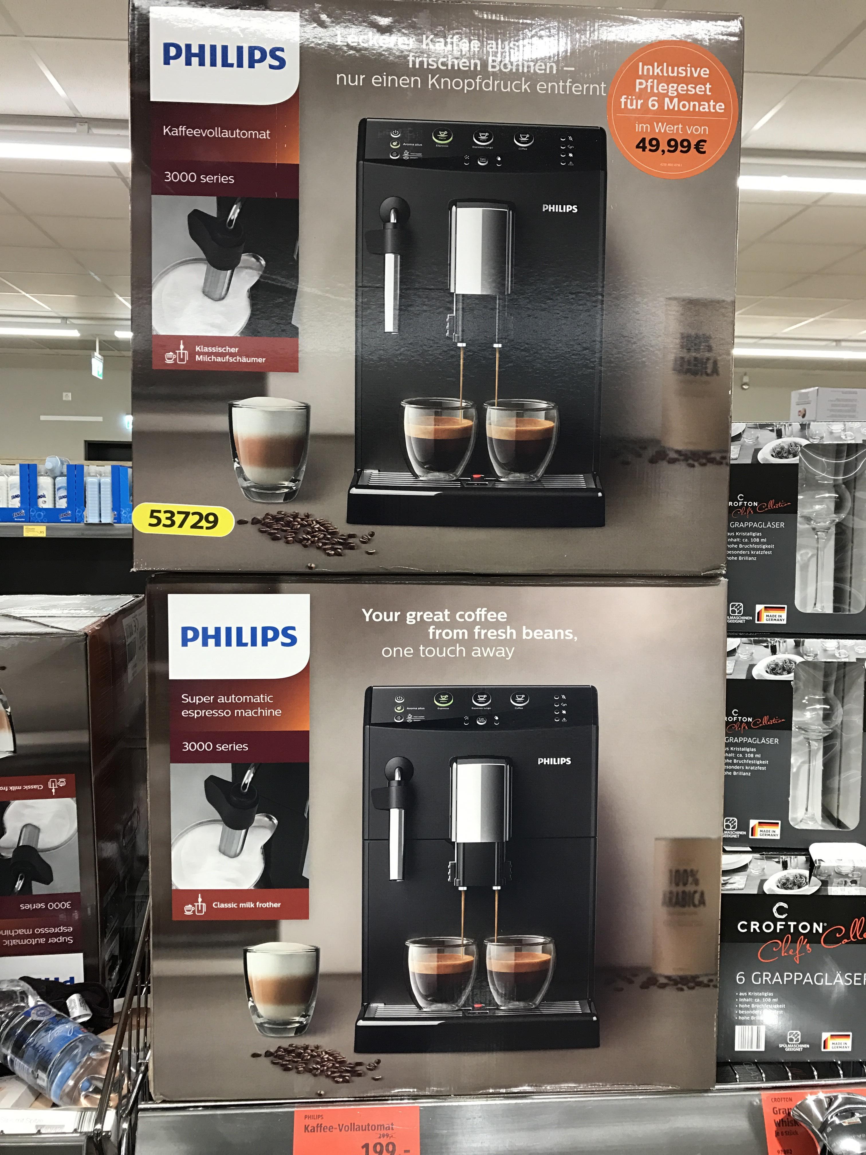 Philips Kaffeevollautomat 3000 Series bei Aldi Süd Sindelfingen