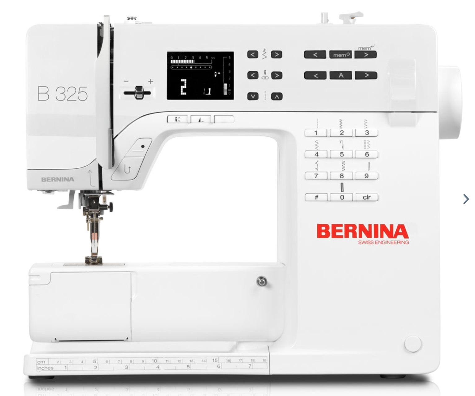 Bernina 325 Nähmaschine 200€ günstiger