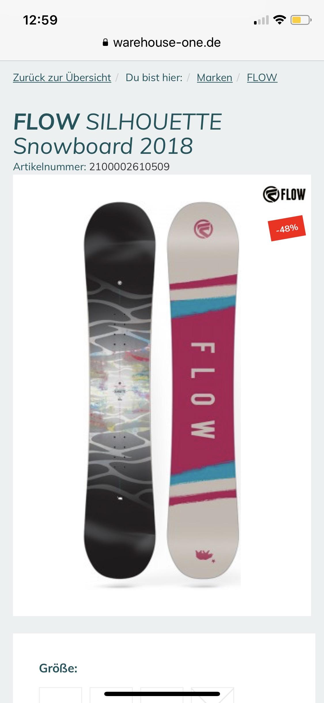 [warehouse-one.de] verschiedene Snowboards im Sale