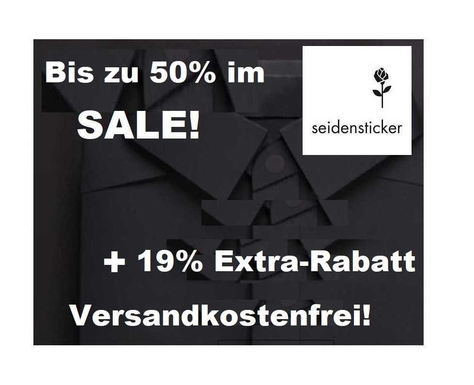 Seidensticker Sale: Bis -50% Rabatt + 19% Extra Rabatt – Versandkostenfrei!