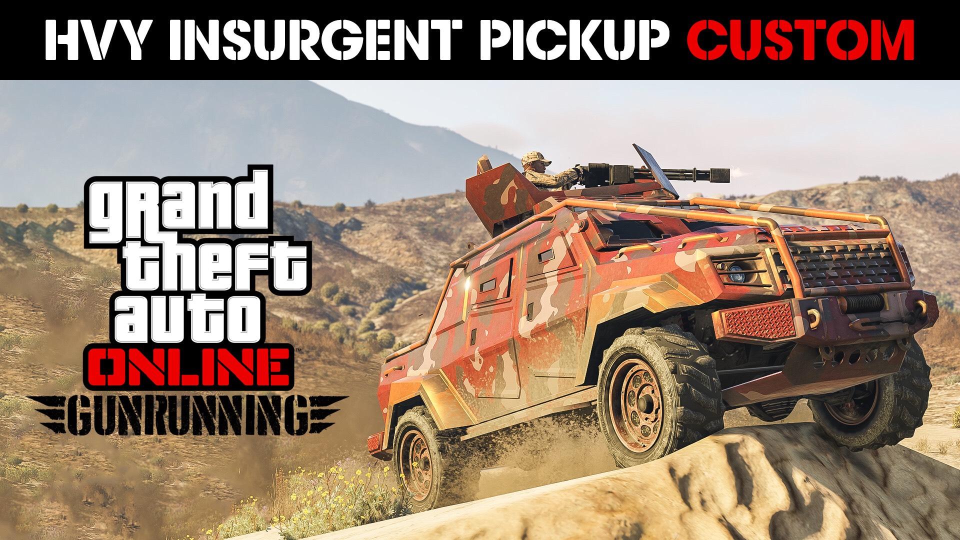 GTA Online: Kostenloser Insurgent Pick-Up