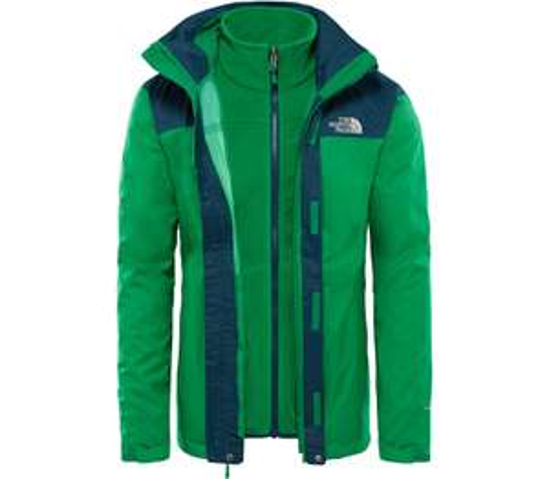 North Face Evolve ii Triclimate grün, nur in S
