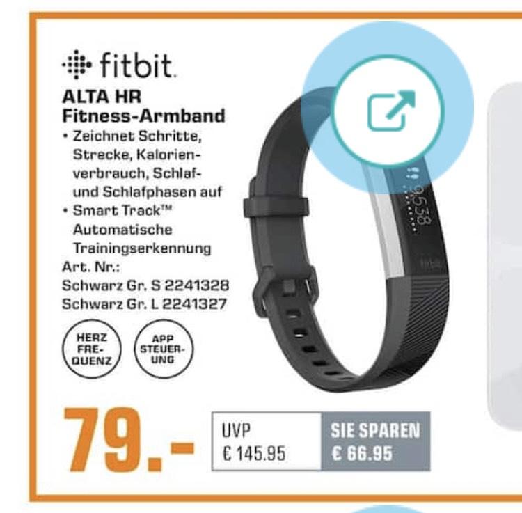 Fitbit Alta HR bei Saturn/Amazon für 79€