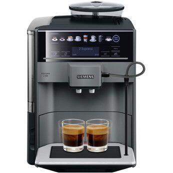 Siemens TE651509DE - EQ.6 Plus s100 Kaffee-Vollautomat diamond titanium metallic - Newsletter