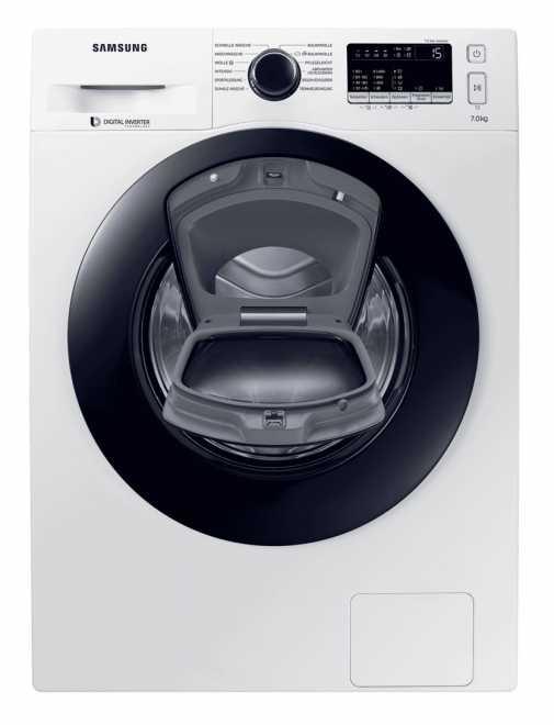 [Expert] Samsung WW4500 WW70K44205W/EG Waschmaschine 7 kg Frontlader / 1400 U/min/Addwash/Weiß A+++