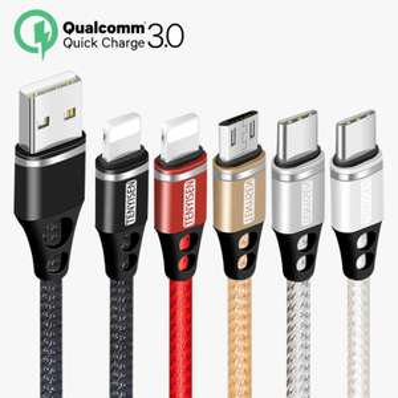 Schnell Lade USB Kabel für Handy Micro USB Typ C Ladegerät Kabel für iPhone Samsung 6 HUAWEI Daten Kabel