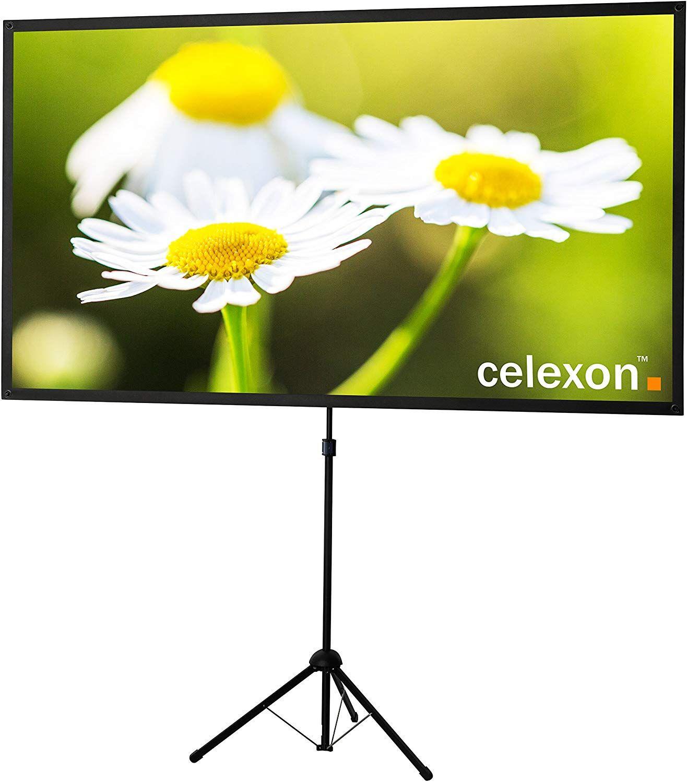 celexon Mobile-Stativ-Leinwand 177 x 100 cm - 16:9@ Kaufland